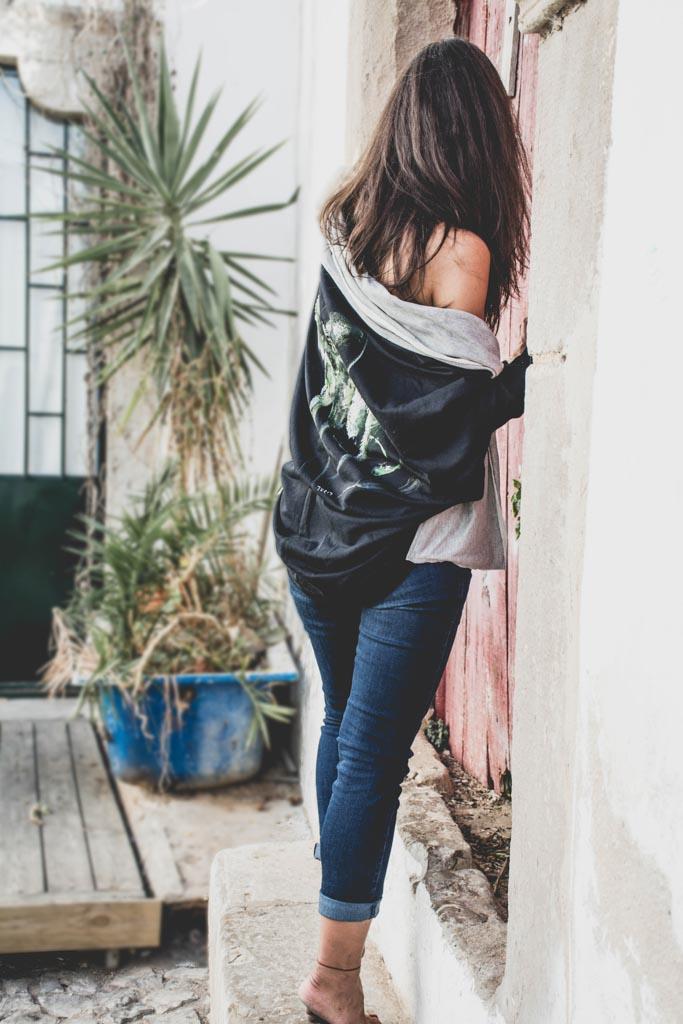 Odzież damska ręcznie malowana