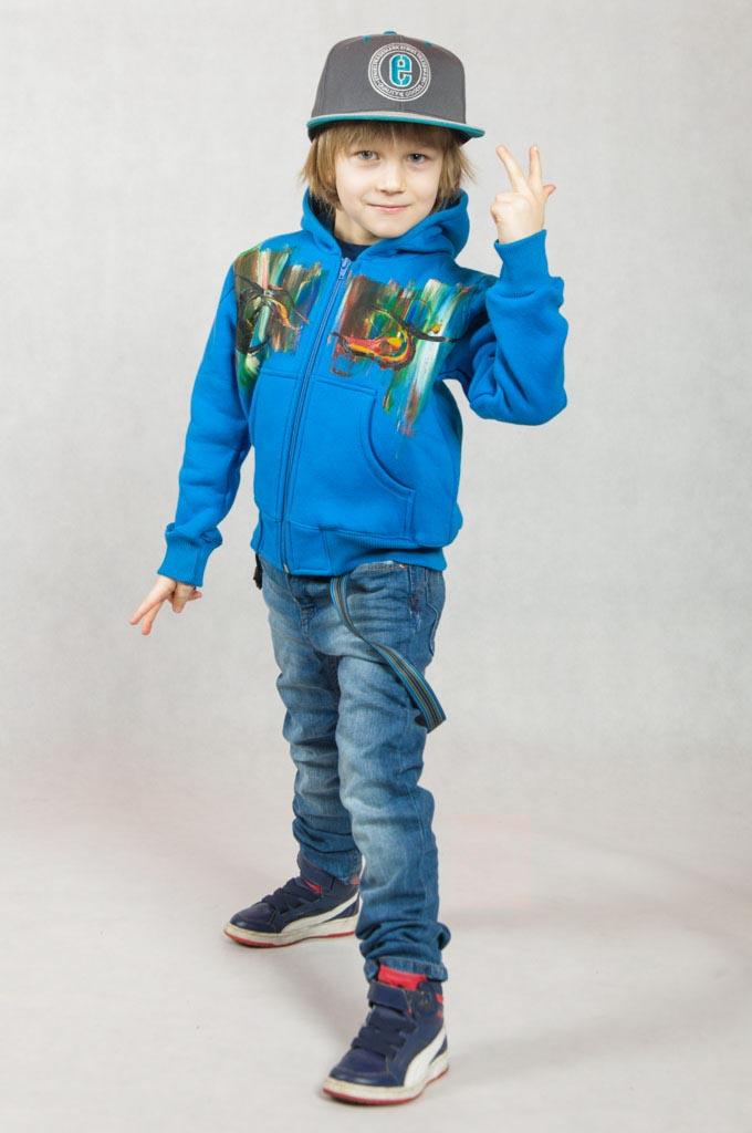 Dziecięce bluzy z kapturem malowane